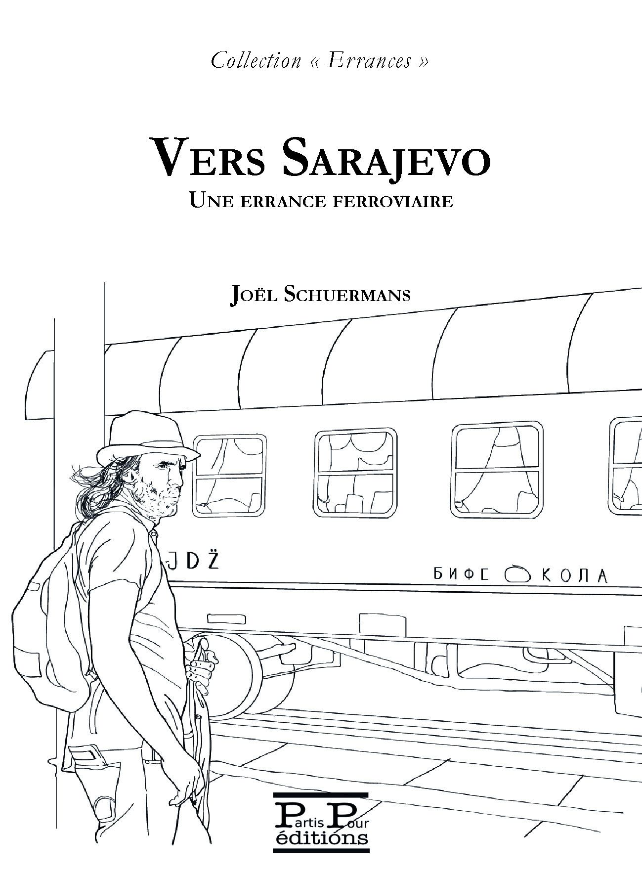 1ereCouv_Vers_varsovie_Schuermans_Editions_Partis_Pour